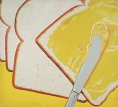 James Rosenquist, considered one of the leaders of the pop art movement of the created White Bread, 1964 Jasper Johns, Robert Rauschenberg, Roy Lichtenstein, Peter Blake, David Hockney, Art Pop, Cultura Pop, Andy Warhol, Richard Hamilton