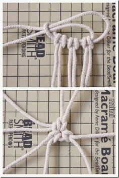 DIY Seilkorb-Tutorial… Source by sissakofa DIY Rope Basket Tutorial … women beauty and make up DIY Rope Basket Tutorial Good idea for hanging a Stone. Interesting way to start the center for a basket! The Craftiness of Crafts Natürlicher Seilkorb DIY Macrame Art, Macrame Projects, Micro Macrame, Diy Projects, Rope Crafts, Diy Crafts, Diy Fashion Accessories, Jewelry Accessories, Rope Basket