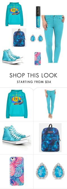 Designer Clothes, Shoes & Bags for Women Liverpool Jeans, Amanda Rose, Too Faced Cosmetics, Jansport, Lilly Pulitzer, Converse, Gucci, Shoe Bag, Polyvore