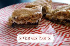 Smores Bars S'mores Bar, Success And Failure, Chow Chow, Sweet Tooth, Sweet Treats, Muffin, Sisters, Tasty, My Favorite Things