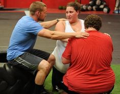 """Get a sneak peek of ABC's """"Extreme Weight Loss,"""" featuring twins who weigh a combined total of 868 life-threatening pounds: http://www.examiner.com/article/extreme-weight-loss-preview-trainer-chris-powell-helps-twins-who-weigh-868-lb"""