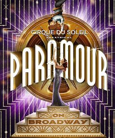 zulily-exclusive offer to see Cirque du Soleil's Broadway debut, PARAMOUR! Get Director Circle seats for select dates from February 7 through March 19 for only $79.99.About the show:Now, in their fourth decade, Cirque du Soleil has expanded to make their soaring Broadway debut with PARAMOUR. The show is a rapturous and passionate new experience that unites the signature spectacle of Cirque du Soleil with the storytelling magic that defines Broadway. Set in the glamorous world of Golden Age…
