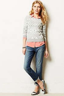 Anthropologie - Northeast Jacquard Pullover