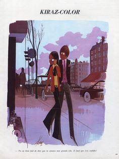 Edmond Kiraz 1971 Shopping, Kiraz-color