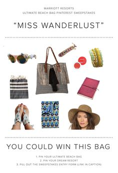 Everything in this bag captures my bohemian style!