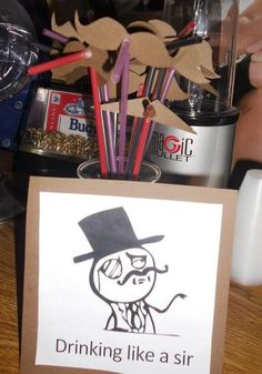 Mustache Party-I like the sir meme :)