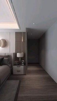 Design Room, Room Design Bedroom, Small Room Design, Modern Bedroom Design, Sweet Home Design, Small House Interior Design, Tiny House Design, Interior Modern, Appartement Design