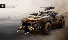 """Though this was too great not to pin """"Local Motors' Rally Fighter - Apocalypse ready"""" by YasidDESIGN"""