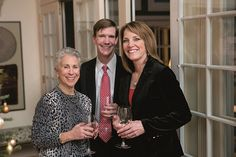 """Kit Slaugh, Jeff Goss and Lori Burkholder at Milagro House's Evening of Miracles (""""Life of a Party,"""" October 2014; photos by Nick Gould)"""