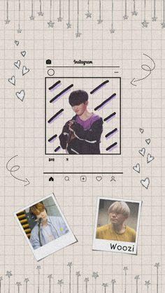 Cute Baby Wallpaper, More Wallpaper, Iphone Wallpaper, Seventeen Wallpaper Kpop, Seventeen Wallpapers, Choi Hansol, Seventeen Woozi, Cute Easy Drawings, Pledis Entertainment