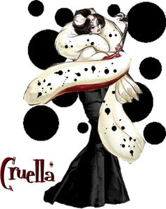 """Cruella DeVil"" by mystimorgan on Polyvore"
