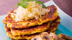 Potato pancakes with cabbage - cuisine of Czechia