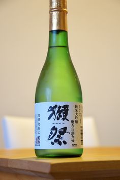 dassai junmaidaigijo 39 sake 獺祭 純米大吟醸 磨き三割九分 日本酒