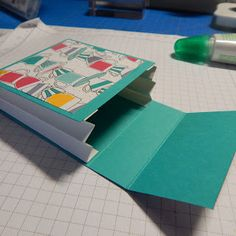 2016 TUTORIAL  BOOK  holds tea bags or small gift