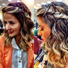 """@mulher_cheirosa's photo: """"Dica de penteado top feito pela queridíssima @Erika Rodrigues. Amamos! <3 #mulhercheirosa #MCdesejo #beauty #hair #braid"""""""