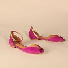 JULIETTE Suede Fuchsia | Emma Go My Emma, Long Toes, Your Shoes, Spring Summer, Heels, Shoes Heels, Heel, High Heel, Platform