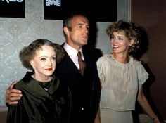 Jessica Lange with James Caan and Bette Davis. I love this photo.