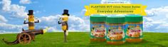 PLANTERS NUT-rition Peanut Butter Everyday Adventures