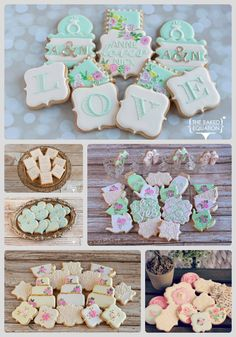 Wedding Cookie Favors |The Baked Equation