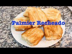 Como Faço Palmier Recheado - YouTube Meat, Chicken, Kitchen, Youtube, Food, Phyllo Dough, New Recipes, Ideas, Kitchens