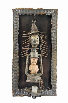 Wladyslaw Hasior on ArtStack - art online Altered Book Art, Macabre Art, Collages, Creepy Dolls, Assemblage Art, Diy Box, Shadow Box, Art Forms, Online Art
