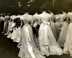 Dresses c. 1900