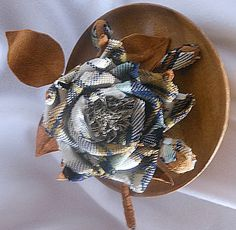 Hatstruck Couture Millinery--Shaping flowers without traditional flower making tools tutorial