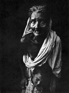 A Bangladeshi refugee woman during the liberation war of Bangladesh against Pakistan. (1971) Photographer- Kishor Parekh