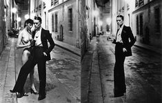 Created in 1966 by famous couturier Yves Saint Laurent, the 'Le Smoking' tuxedo suit for women was the first of its kind to earn attention in the fashion world and in popular culture. It pioneered long, minimalist, androgynous styles for women, as well as the use of power suits and the pantsuit in modern-day society.