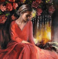 The Poet of Painting ~ Catherine La Rose: ✿ Emilia Wilk Different Kinds Of Art, Women Figure, Japanese Artists, Artist Art, Figurative Art, Sculpture Art, Sculptures, Female Art, Rose