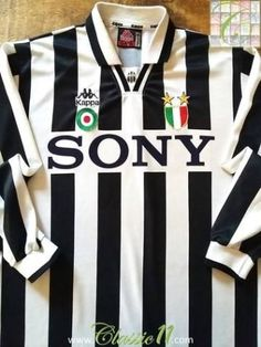 028e9e3a0 Relive Juventus  Serie A season with this original Kappa home long sleeve  football shirt.