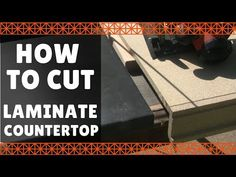 How to cut Laminate countertop – DIY This is a short video demonstrating how to cut laminate (formica) countertop without chipping with a circular saw. Formica Laminate Countertops, How To Install Countertops, Diy Countertops, Wood Shop Projects, Circular Saw Blades, Countertop Materials, Fireplace Design, Home Repair, Masking Tape