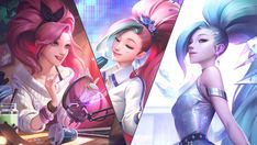 Lol League Of Legends, Evelynn League Of Legends, League Of Legends Characters, Ahri Lol, League Of Angels, Seraphin, Legend Images, Overwatch Comic, Coloured Girls