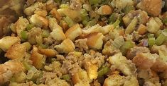 Best Sausage Stuffing Stuffing Recipes, Sausage Recipes, Turkey Recipes, Sausage Stuffing, Turkey Stuffing, Thanksgiving Dinner Recipes, Holiday Recipes, Candy Recipes, Christmas Recipes