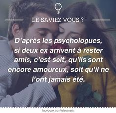 If two former friends come to stay, it is either that they are still in love, or that were never Citation Pour Son Ex, Quote Citation, Best Inspirational Quotes, Best Quotes, Love Quotes, French Quotes, Word Up, Some Words, Happy Thoughts