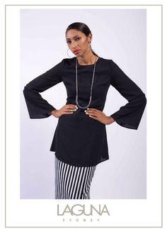 LAGUNA SYDNEY EID 2016 capsule collection monochrome FashionValet online offline hijab Muslimah friendly Lebaran raya FvRaya Sydney Australia urban resort chic sophisticated fashion