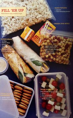 Snack floor for road trips pictured.  Popcorn, chickpeas, etc                                                                                                                                                     More