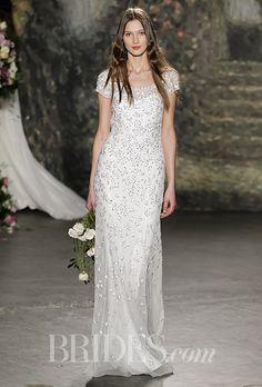 Brides.com: Jenny Packham - Spring 2016 Wedding dress by Jenny PackhamPhoto: Luca Tombolini / Indigitalimages.com