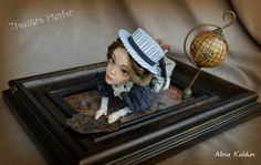 OOAK Art Doll / Colonial Steampunk от CharmingWitchStore на Etsy