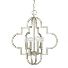The Brushed Gold Ellis Pendant Has a Moroccan Inspired Pattern And A Gold Finish. It Uses 4 Candelabra Bulbs & Has An Elegant Feel That Will Complete Any Room.