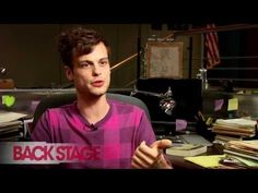 Matthew Gray Gubler Interview