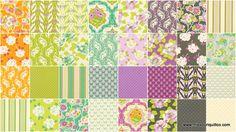 Lottie Da Fat Quarter Bundle - Heather Bailey - Free Spirit Fabrics