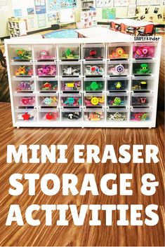Mini Eraser Storage