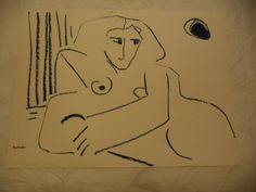 Faye Franklin Chicago Artist Mid Century Modern by YaYasAntiques