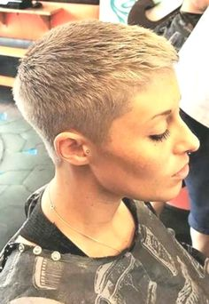 Ideas About Short Pixie Haircuts For Women 2019 - Hairstyle Fix Very Short Pixie Cuts, Super Short Pixie, Short Hair With Layers, Short Hair Cuts For Women, Short Hair Styles, Layered Hair, Black Girl Short Hairstyles, Short Grey Hair, Cute Girls Hairstyles