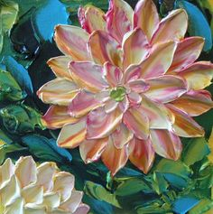 Pretty flower painting