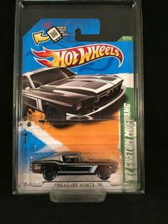 Hot Wheels 2012 Treasure Hunt 67 Custom Mustang for sale online Custom Hot Wheels, Hot Wheels Cars, Hot Wheels Treasure Hunt, Muscle Cars, Diecast, Mustang, Monster Trucks, Corgi, Hobbies