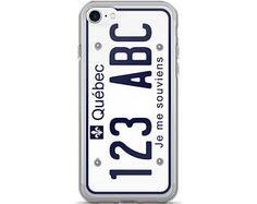 Quebec License Plate. iPhone 7/7 Plus Case