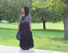 BeautyFash {from Sequins to Cilantro!}: Broomstick Skirt