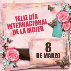 Happy Woman Day, Happy Women, Ladies Day, Special Day, Happy Birthday, Html, Ideas, Paper, Pretty Quotes
